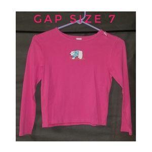 Gap kids  girls polar bear shirt